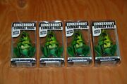 Lot Of 7 Lunkerhunt Combat Frog - Topwater Bass Fishing Lure - Brand New