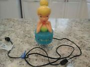 Tinkerbell Lamp By Disney Princess. Great Condition