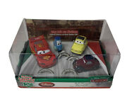 Disney Store That's Amore Diecast Cars 2 Talking Lightning Mcqueen Topolino New