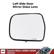 Side Mirror Rear View Door Fender Lens Lh Fit For Toyota Hilux Ln100 Ln106 Truck