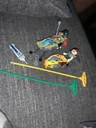 Lego Legends Of Chima - 2 Racers With Rip Cords -  Mini Figures