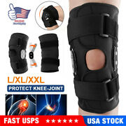 Adjustable Hinged Knee Patella Support Brace Sleeve Wrap Cap Stabilizer Sports A