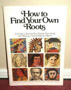 How To Find Your Own Roots By Lisa Ray Clewer 1977 Lds Mormon Genealogy Booklet