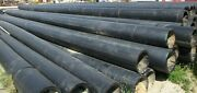 Ips 18 Dr11 50and039 Sections Hdpe Black Plastic Pipe Sold Separate B197ga