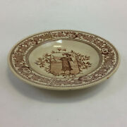 Old Hall Mother Hubbard Rimmed Soup Bowl 9 Victorian C. 1880 Made In England