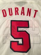 Kevin Durant Signed Autographed Team Usa Jersey W/ Tags Warriors