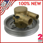 Raw Water Pump For Volvo Penta 4.3l 5.0l And 5.7 Engines V8 V6 21212799
