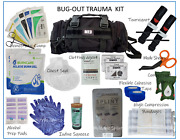 Tactical Molle First Aid Survival Emt Trauma Kit- Black Bug-out Trauma Kit Ifak