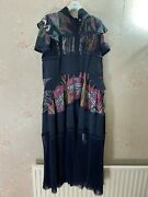 Brand New Sacai X Sun Surf Sheer Panelled Midi Dress Size 1 Small New Rrp Andpound2950