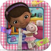 Doc Mcstuffins Large Paper Plates 8 Birthday Dinner Party Supplies Tableware