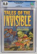 Harvey Comics Hits 59 Cgc 8.0 Tales Of The Invisible 1952 Pre Code