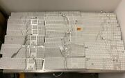 Lot 30 Apple A1243 Mb110ll/a Wired Keyboard W/ Numeric Keypad Broken As-is