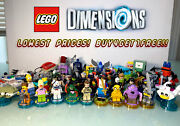Lego Dimensions - Minifigures And Vehicles W/ Tag - Buy4get1free