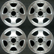 Ford F-150 Machined 16 Oem Wheel Set 2000 To 2004