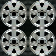 Lincoln Mark Lt Machined 18 Oem Wheel Set 2003 To 2008