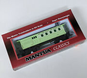 Tested - Mantua Classics Ho Scale New York Central And Hudson Train 1860 Combine