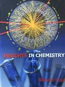 Insights In Chemistry Steven Fawl Hardcover Excellent Cond. Fountainhead Press