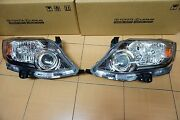 Xenon Headlight Lamp Lh+rh For Toyota Fortuner 2013-2015 Genuine From Toyota