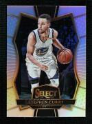 2016-17 Panini Select Premier Level Silver Prizm Stephen Curry 161