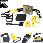 Home Gym Suspension Resistance Strength Training Fitness Straps Workout Trainer