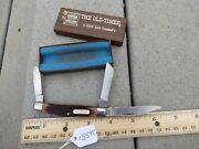 Schrade Old Timer Ll Bean 34ot Knife Made In Usa Lot15595