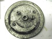 P And M Panther 35s Front Brake Plate Nos Original British Hub Greeves And Cotton