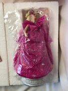 Barbie Collectibles Happy Holidays 1990 Musical Figurine Enesco Nrfb Music