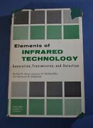 Elements Of Infrared Technology Kruse John Wiley And Sons 2nd Printing 1963