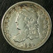 1831 Capped Bust Silver Half Dime ☆☆ Circulated ☆☆ Great Set Filler 400