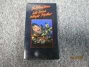 The Rolling Stones Let's Spend The Night Together Vhs Tape 1983 Exc