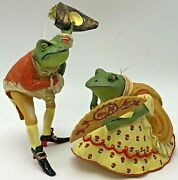 Metropolitan Museum Of Artmma Courting Victorian Frog Toad Christmas Ornaments