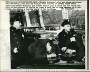 1963 Press Photo Officers Paul Maloney And Phillip Buckley Waiting For Patrol Wago