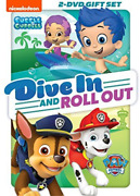 Paw Patrol / Bubble Guppies...-paw Patrol / Bubble Guppies Dive In And Ro Dvd New