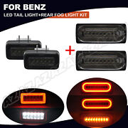 4x Sequential Led Tail Light Rear Fog Lamp Set For Mercedes W463 G Class 1990-15