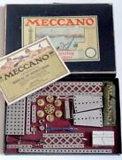 Meccano American No1 Outfit C 1916 In Original Box And Instructions