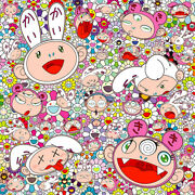 """Takashi Murakami """"you Have All Sorts Of Ups And Downs In Life. Right Ed 300"""