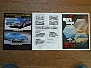 1975 Custom Trim Products Parts Flyers