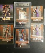 Lebron James Rc 03 Bgs 9 Ud Star Rookie Exclusives Lot Kobe Carmelo Wade Bosh