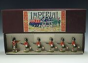 Imperial The Gordon Highlanders Charging Lead Toy Soldier Royal Figure Set 13b
