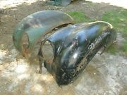 1938 Ford Standard Car Front Fenders Orig. Very Rusty As Is Local P/u Only