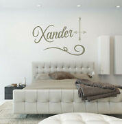 Personal Graffiti Name Wall Vinyl Decal Sticker Office Bedroom Nursery Washable
