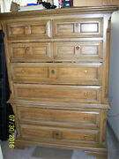 Vintage/collectible Thomasville 6 Drawer High Boy Chest Of Drawers From 1967