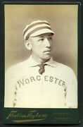 Worcester Baseball Player Cabinet Card C.1889-90 Type 1