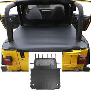 Rear Trunk Soft Top Bikini Isolation Cover For Jeep Wrangler Tj 1997-06 Leather