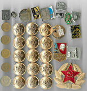 Rare Old Lenin Medal Badge Cold War Russia Cccp Coin Collection Lot Great Ab26🔥