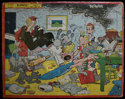 Vintage 1958 Blondie Tray Frame Puzzle , Built Rite Sta-n-place No. 122929