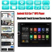 7 Car Android 10.0 Mp5 Player Bluetooth Touch Screen Stereo Radio Gps Universal