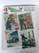 Green Hornet 4 Frame Tray Puzzles Whitman 1966 Nm