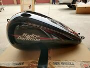 2009 Harley Davidson Dyna Fxdl Stock Fuel Tank With Dent. Used.