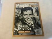 People Magazine Tribute May / June 1998 Frank Sinatra His Life His Way